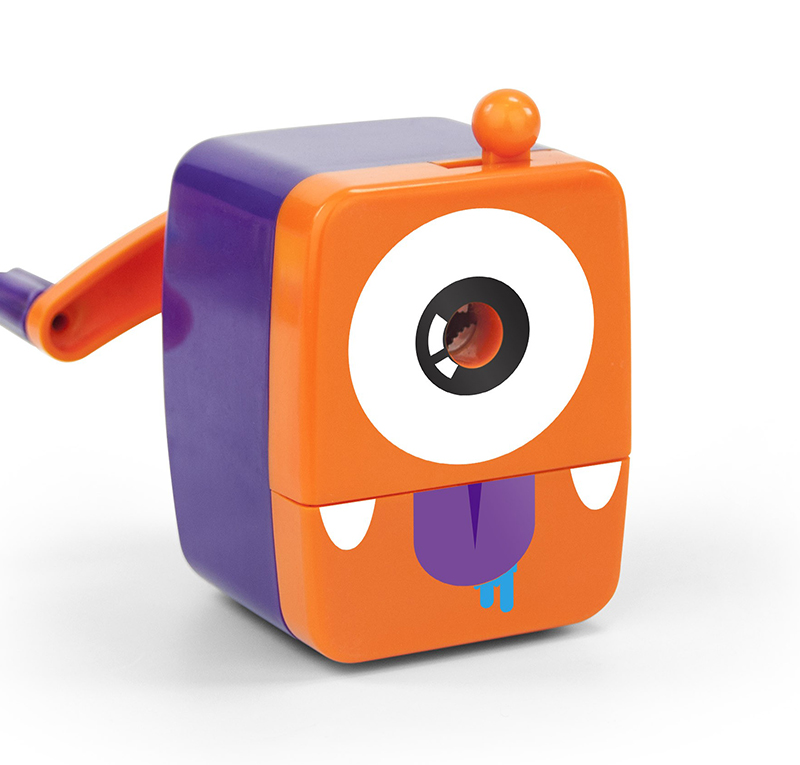 Mini Monsters Sharpeners Orange
