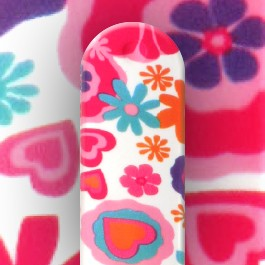 Cadran Mini Blanc Bracelet Classic Mini Waterprint Pink Fruit