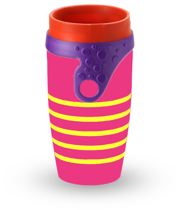 Neolid mug isotherme twizz ipanema le soleil du br sil for Mug isotherme micro onde