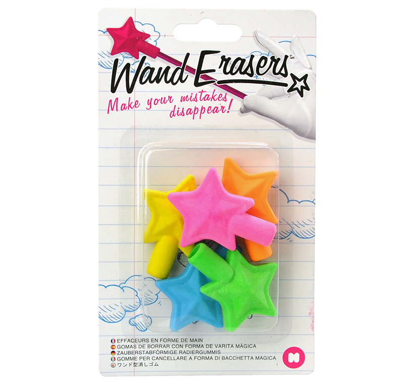 Wand Erasers Gommes