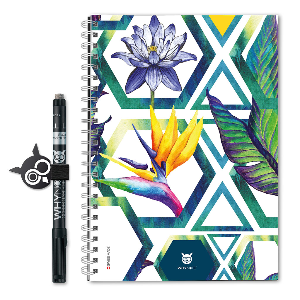 Whynote Book Eco - A5 - Hexagone Whynote Book Eco - A5 - Hexagone