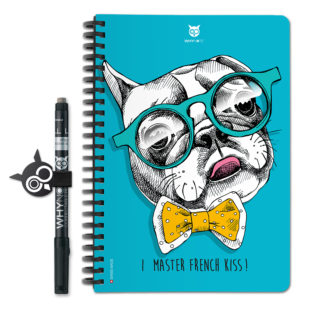 Whynote Book - A5 - French Bulldog Whynote Book - A5 - French Bulldog
