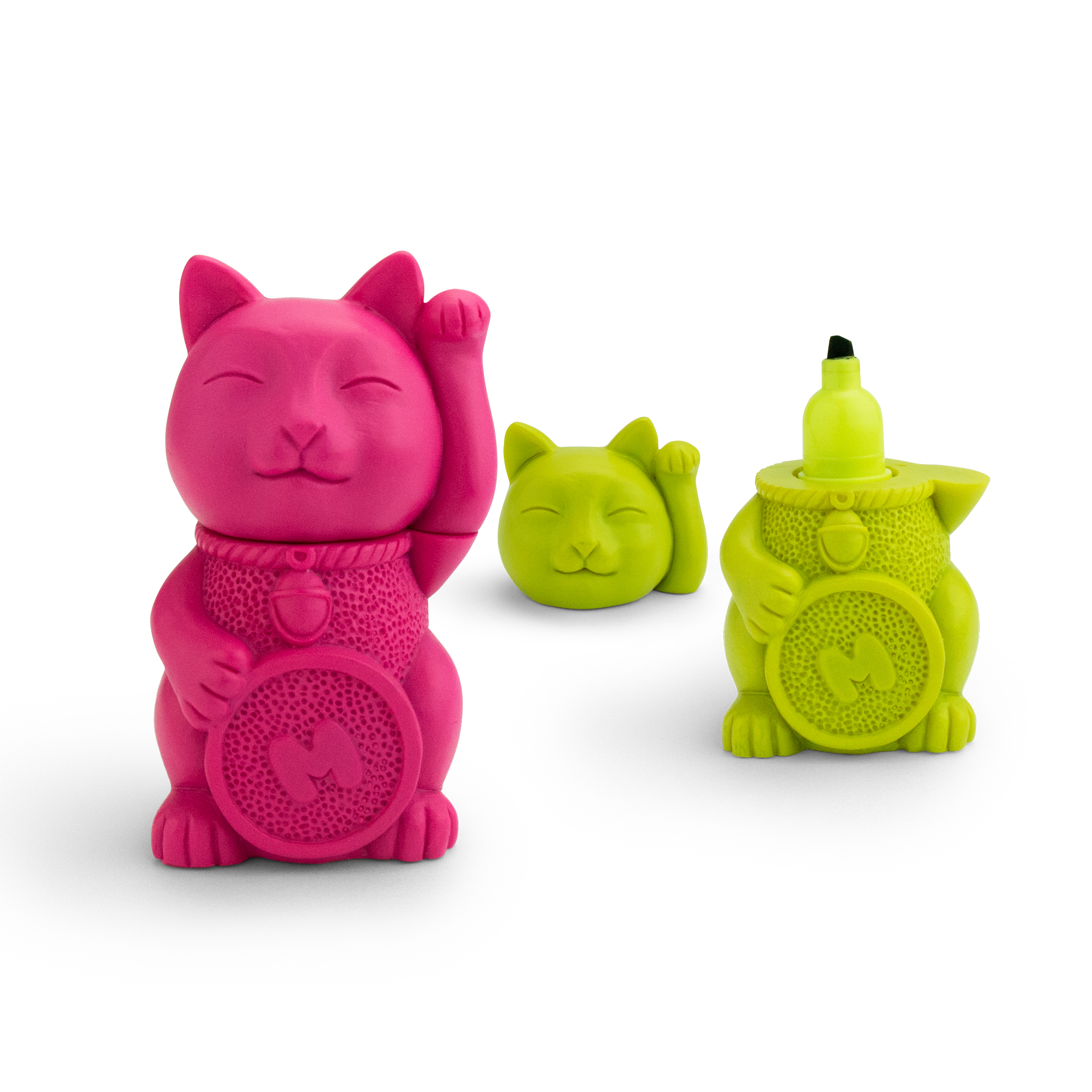 Lucky Cat Highlighter Lime