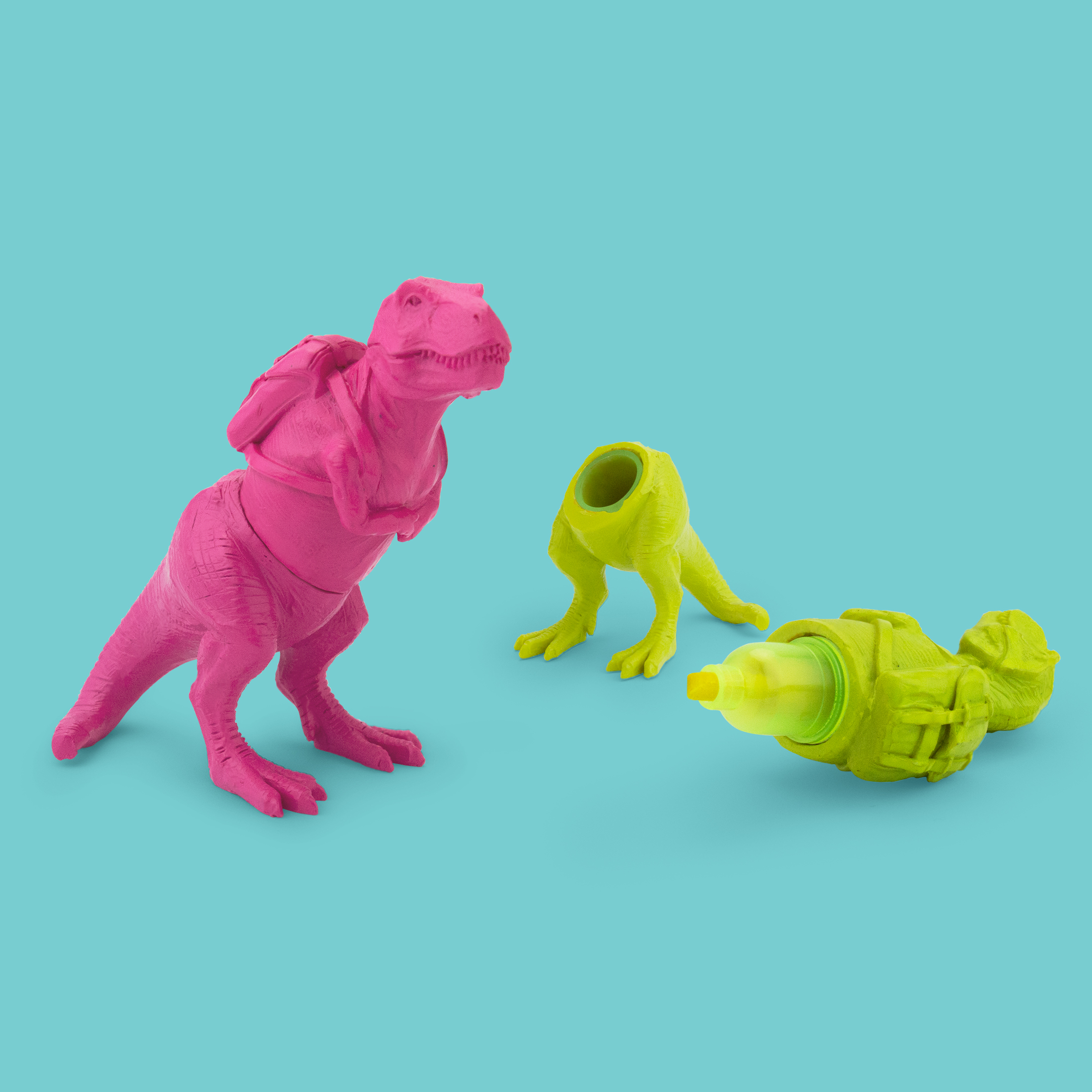 T-Rex - Highlighter  Pink